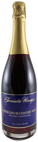 Tomasello Winery Sparkling Blueberry Wine